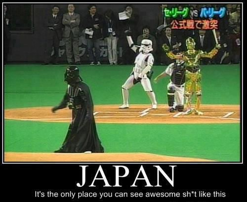 Japan It's the only place where you can see awesome sh*t like this