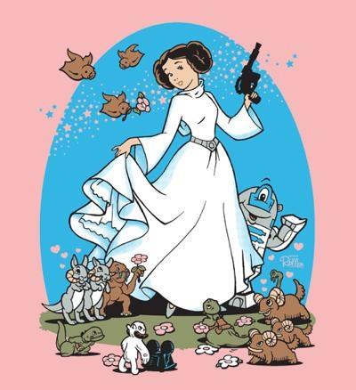 Leia Disney princess