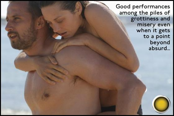 Rust and Bone yellow light Matthias Schoenaerts Marion Cotillard