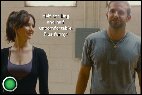 Silver Linings Playbook green light Jennifer Lawrence Bradley Cooper