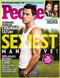 Channing Tatum Sexiest Man Alive People magazine