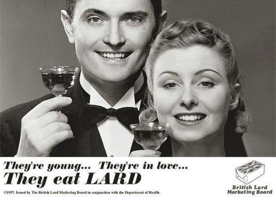 British Lard Marketing Bureau ad 1957