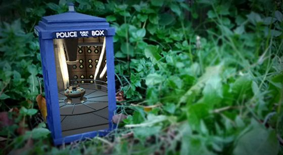 augmented reality TARDIS