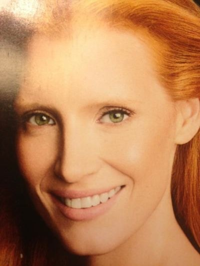 Jessica Chastain airbrushed by Marie Claire