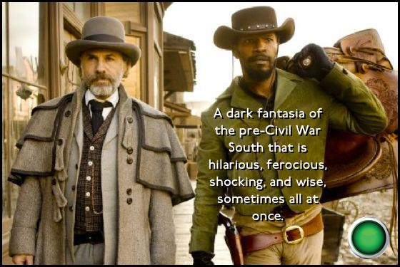 Django Unchained green light Christoph Waltz Jamie Foxx