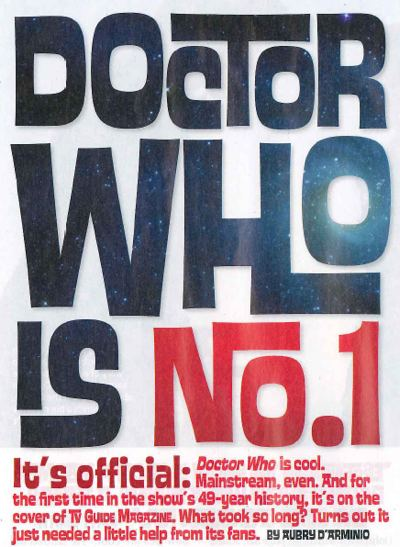 Doctor Who in TV Guide