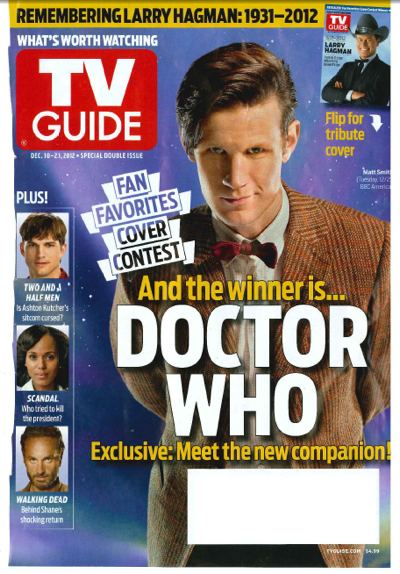 Doctor Who TV Guide Matt Smith