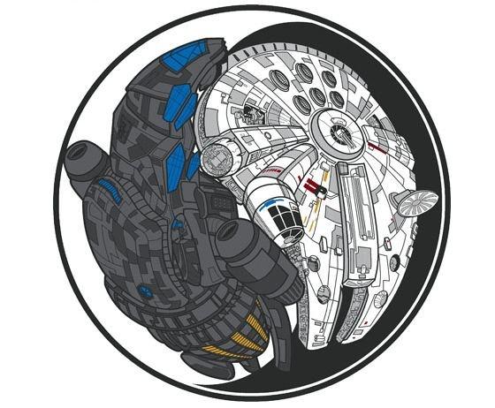 Firefly Star Wars yin yang