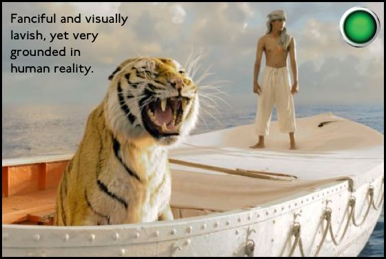 Life of Pi green light