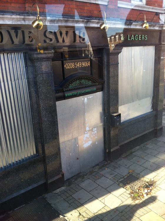 shut down pub