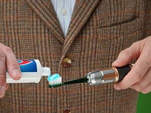 sonic screwdriver toothbrush