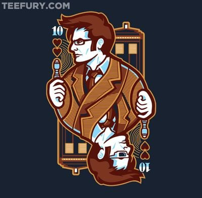 10th of Hearts Doctor Who by WinterArtwork