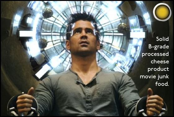 Total Recall yellow light Colin Farrell