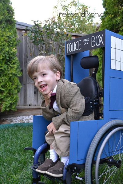 wheelchair TARDIS