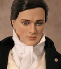 Mr Darcy doll