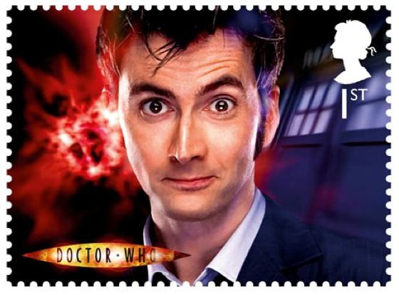 David Tennant Doctor Who Royal Mail