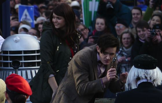 Doctor Who New Year's Day parade