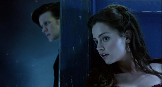 Doctor Who Snowmen Matt Smith Jenna-Louise Coleman