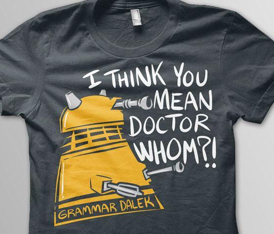 grammar Dalek