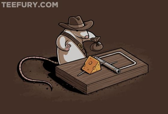 Indiana Mouse by Naolito
