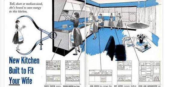1950s future kitchen