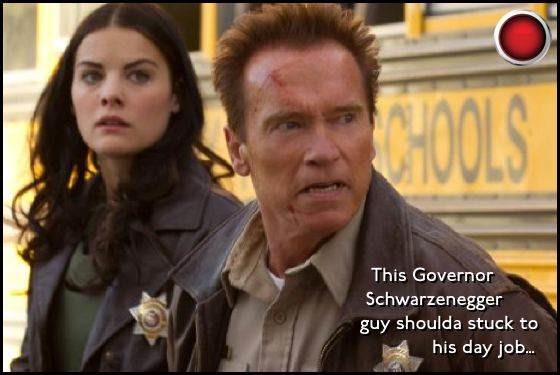 The Last Stand red light Jaimie Alexander Arnold Schwarzenegger