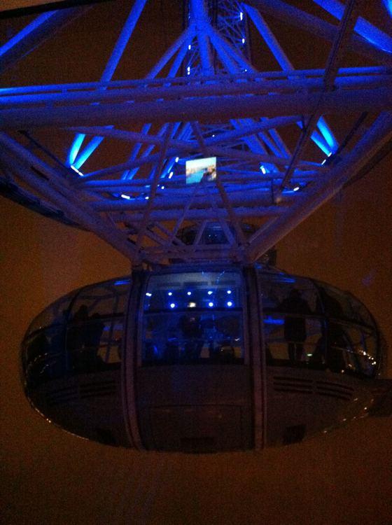 London Eye pod people