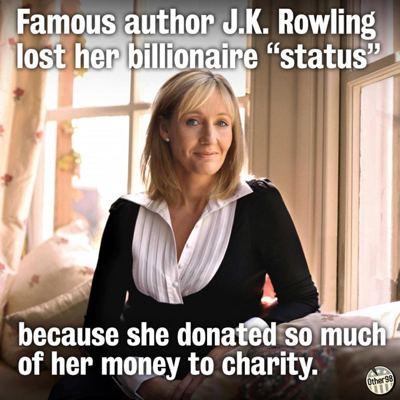 JK Rowling charity
