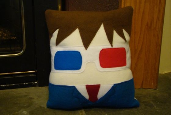 Tenth Doctor plush pillow