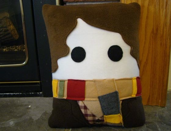 Fourth Doctor plush pillow