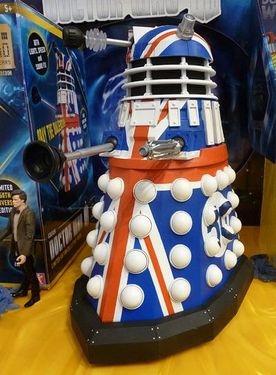 50th anniversary Dalek
