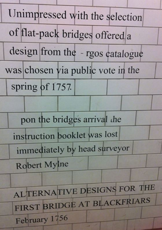 Blackfriars Bridge joke