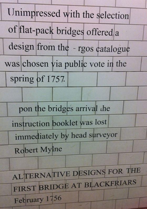 Blackfriars Bridge joke