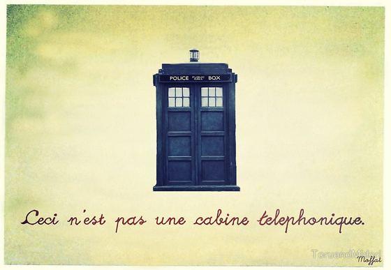 ceci n'est pas une cabine telephonique