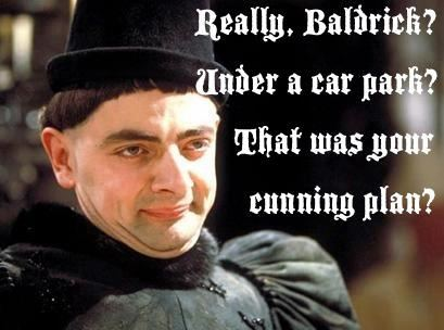 Blackadder a cunning plan