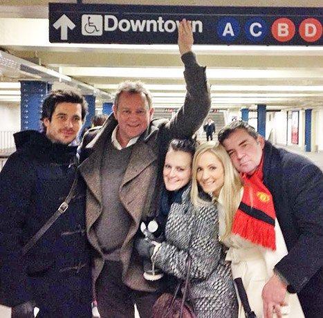 Downton Abbey subway