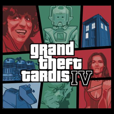 Grand Theft TARDIS IV by loogyhead