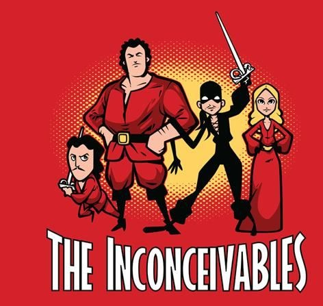 The Inconceivables Princess Bride Nik Holmes