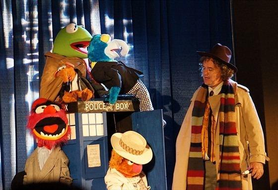 Muppet Doctors mini TARDIS
