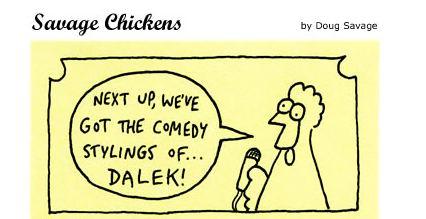 Savage Chickens Dalek