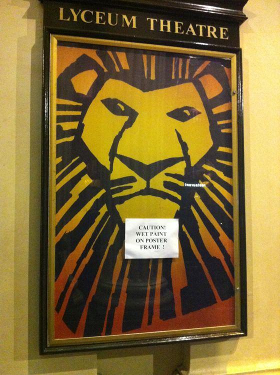 Lion King wet cat