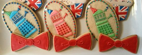 Cookie Cowgirl Doctor Who cookies
