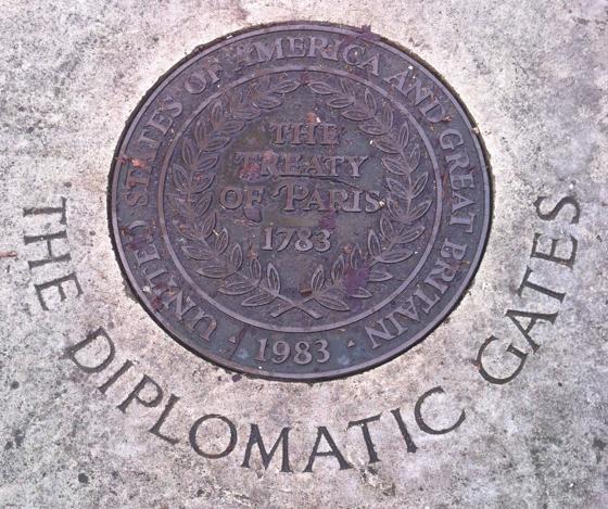 diplomatic gates
