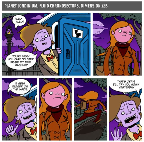 Doctor Whoa Scenes from a Multiverse Jonathan Rosenberg