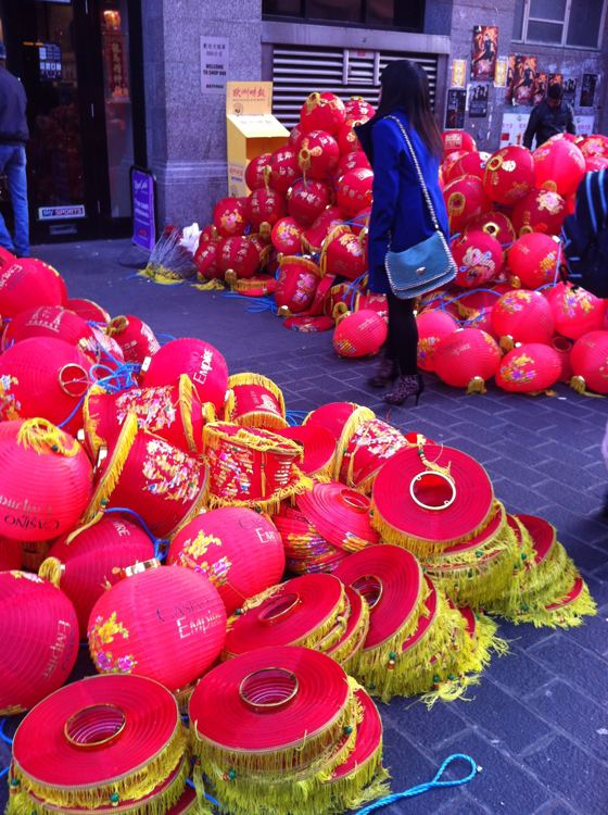 end of Chinese New Year