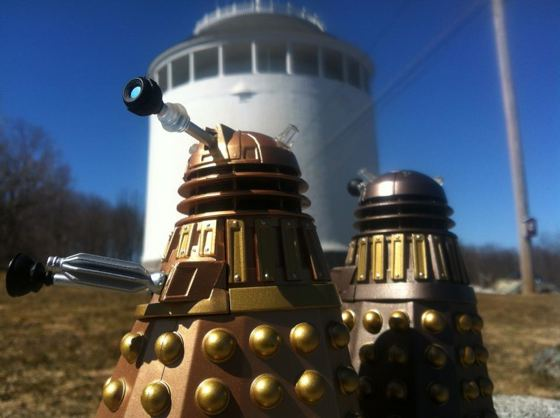 Dalek invasion of Bangor Maine
