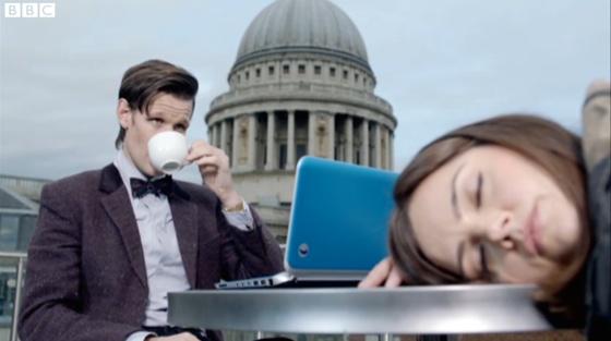 Doctor Who The Bells of Saint John Matt Smith Jenna-Louise Coleman