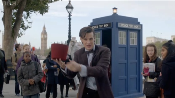 Doctor Who The Bells of Saint John Matt Smith