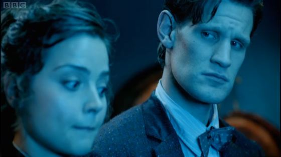 Doctor Who Cold War Jenna-Louise Coleman Matt Smith