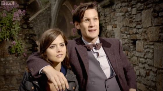 Doctor Who Hide Jenna-Louise Coleman Matt Smith